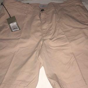 Peach Men's Flat Front Shorts